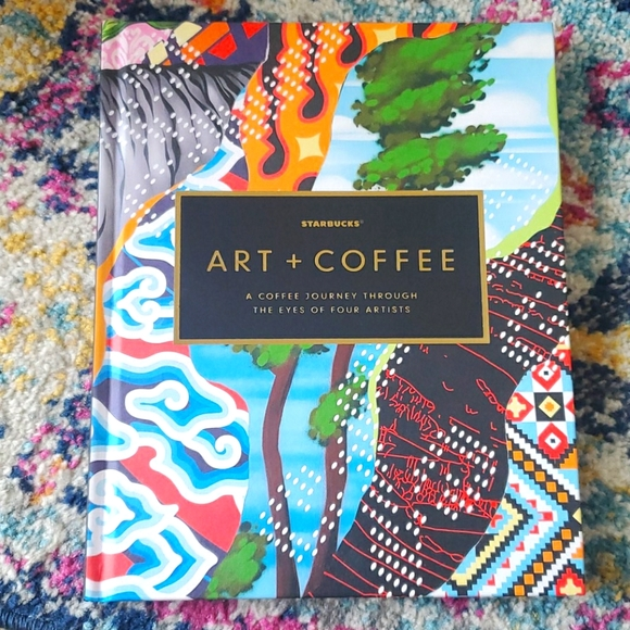 Collectors Starbucks ART + COFFEE Table Book
